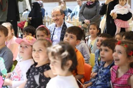 Tekne Orucu, Zal Mahmut Paşa Külliyesi Ramazan Çocuk Bahçesi, Eyüpsultan Belediye Başkanı Deniz Köken