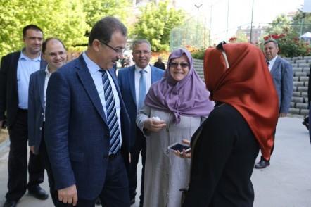 Eyüpsultan Belediye Başkanı Deniz Köken, Akşemsettin, Çırçır mahalle, gezi,