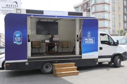Eyüpsultan, Mobil Vergi Ödeme Aracı, Defterdar Mahallesi Modesa Sitesi İSKİ binası