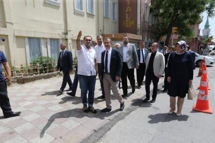 Eyüpsultan Belediye Başkanı Deniz Köken, mahalle, inceleme, Alibeyköy, Esentepe
