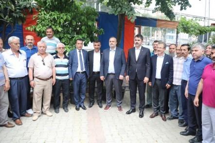 Çevre ve Şehircilik Bakanı Murat Kurum, Pirinççi, Sakarya, Silahtarağa, Karadolap, tapu, eyüpsultan