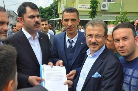 Çevre ve Şehircilik Bakanı Murat Kurum, Kemerburgaz, hastane