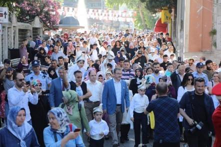 Eyüpsultan Belediyesi, Sünnet Şöleni, boğaz turu, Eyüpsultan Belediye Başkanı Deniz Köken