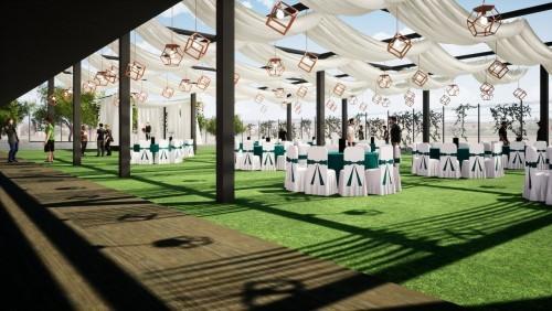 Eyüpsultan Belediye Başkanı Deniz Köken, Kemerburgaz Düğün Salonu, proje