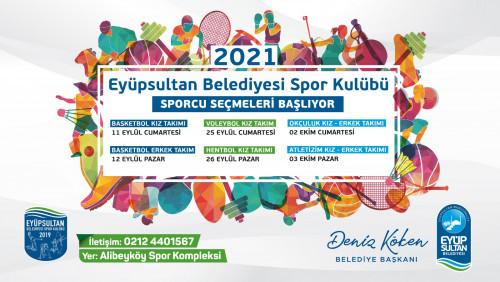 Eyüpsultan Belediyesi Spor Kulübü seçmeleri başlıyor