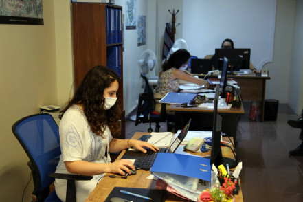 İslambey Kentsel Dönüşüm Ofisi'nde vatandaşlarla uzlaşma görüşmelerine başlandı