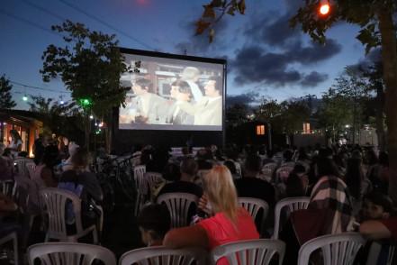 Göktürk'te açık hava sineması ve Gece Pazarı