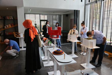 Açılış için gün sayan Matematik Evi'nin ilk misafirleri Matematik öğretmenleri oldu